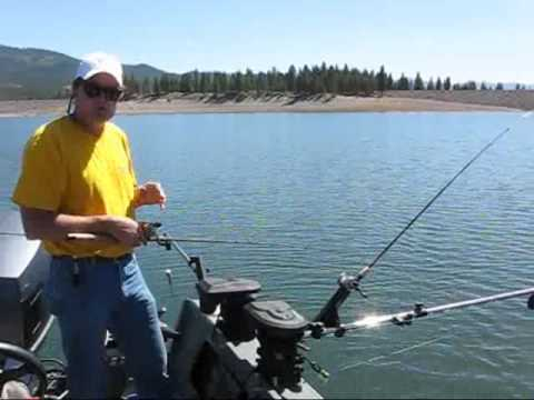Vance's Tackle Downrigger Stacking 2 Rods