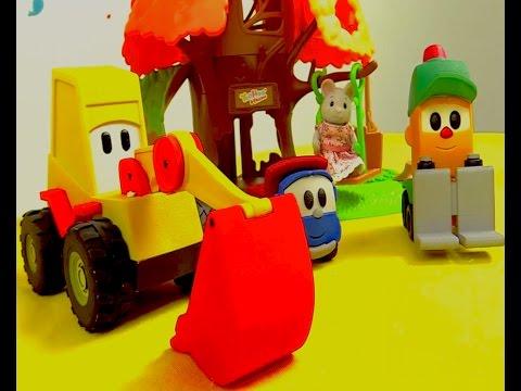 Bebetürk - Kamyon Leo çocuk Parkı Yapıyor. Çocuk Videosu