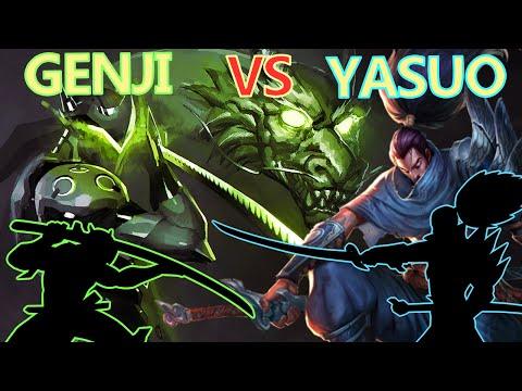 YASUO VS GENJI
