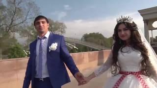 Красивая пара Kурдская свадьба в Алматы Лезгинка жениха и невесты