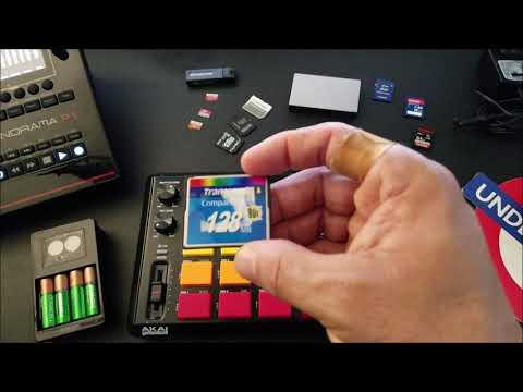 AKAI MPC 500 Memory Card Tips & More!!!
