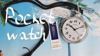 Обзор SEIKO RAILROAD SVBR003 POCKET Watch / карманные часы