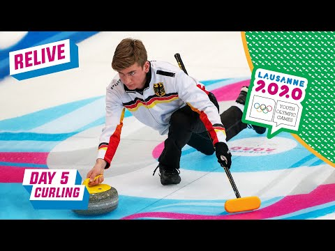 RELIVE - Curling - Hungary vs Germany - Round Robin Mixed Team - Day 5 | Lausanne 2020