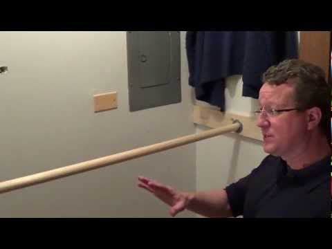 Double Your Closet Space - Double Closet Rod