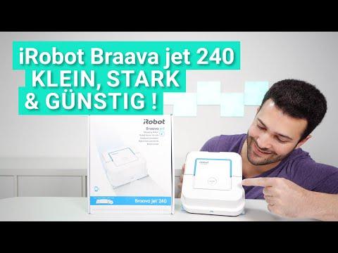 Der iRobot Braava jet 240 im Test - Klein, stark & günstig!
