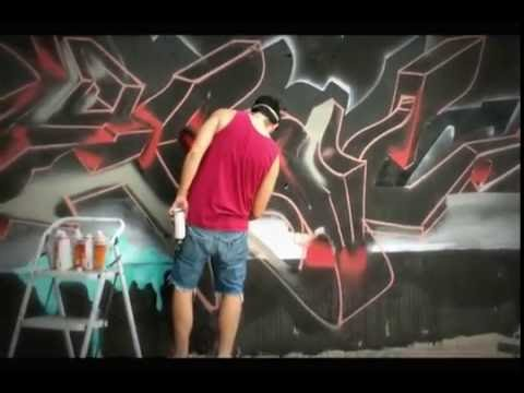 Arad Levy - Logic 3D graffiti