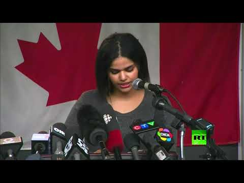 كلمة للسعودية رهف محمد القنون أمام الصحفيين في مدينة تورونتو الكندية  - نشر قبل 7 ساعة