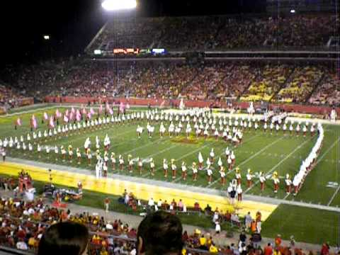 ISU Marching Band Plays Spongebob Theme Song