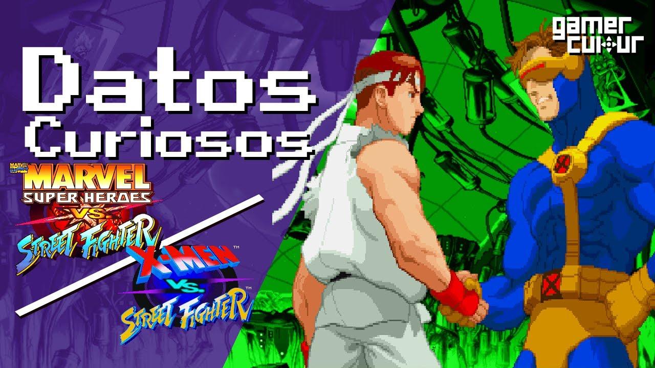 Curiosidades de Marvel Super Heroes Vs Street Fighter / X-Men Vs Street Fighter