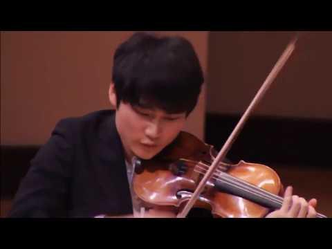 Schumann violin sonata no. 3 in A minor WoO 27, InMo Yang 양인모
