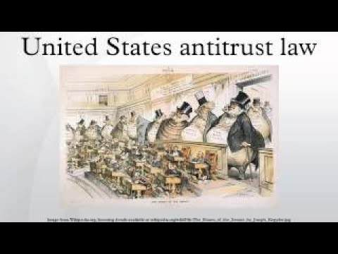 United States Antitrust Law