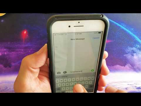 IPhone 8 / 8 Plus: How To Turn On/Off Keyboard Clicking Noise Sound