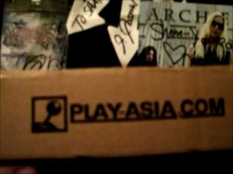 Video Game Package - Play-Asia com Games + Service Review