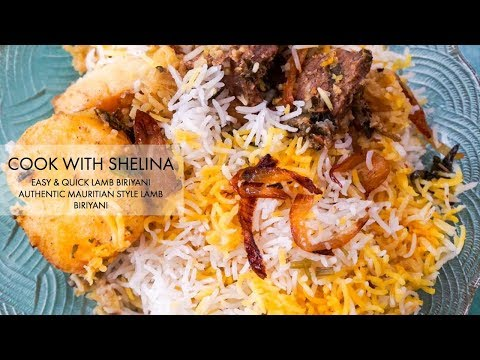 EASY AND SIMPLE AUTHENTIC BIRIYANI *MAURITIAN RECIPE