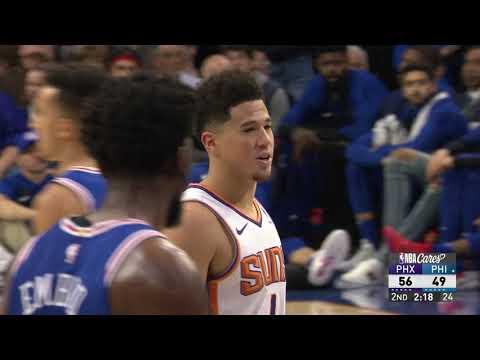 Phoenix Suns vs Philadelphia 76ers   November 19, 2018