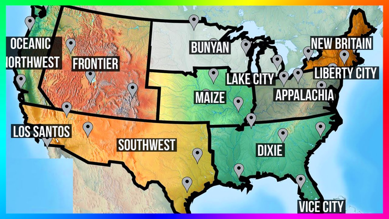 BEST Custom GTA Maps Updated San Andreas Liberty City USA - Us city map