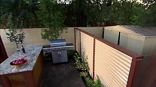 How to Hide an Unsightly Storage Shed - DIY Network