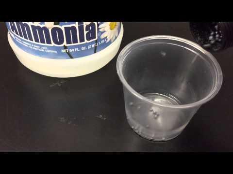 How to make exploding NITROGEN TRIIODIDE (NI3)