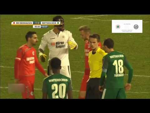RWO 1:O gegen Wattenscheid Platzverweis gegen SG-Keeper Sancaktar