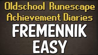 Fremennik Easy Achievement Diary Guide | Oldschool Runescape