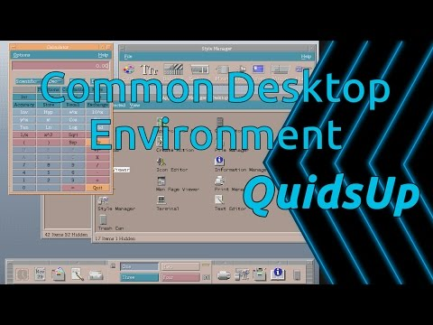 Desktop December - CDE Review - Back to the 90s