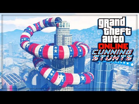 GTA 5 WORLDS BEST ONLINE STUNT RACES!! (GTA 5 ONLINE DLC UPDATE)