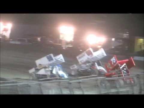 Sprintcars @ Silver Dollar Speedway 10 3 15 part 1