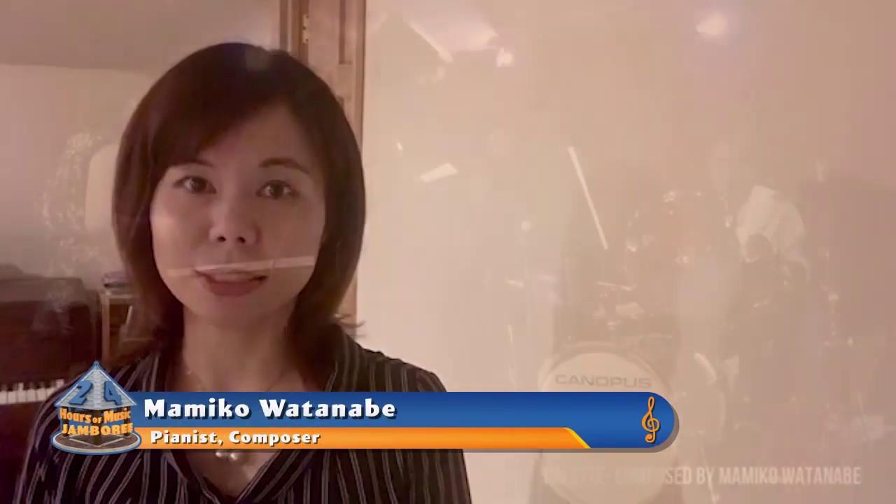 Mamiko Watanabe in 2020 24 Hours of Music Jamboree