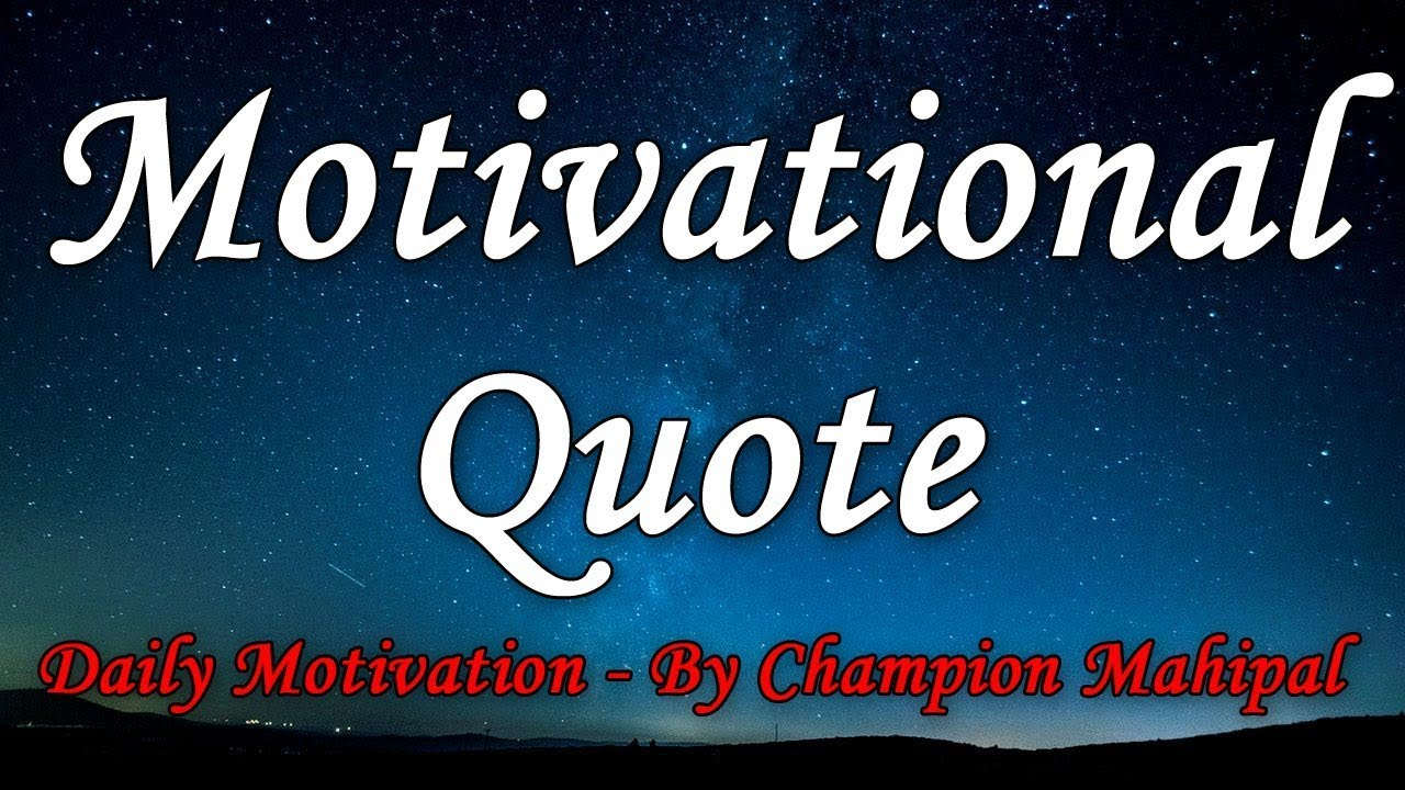 Good Thoughts Thought Of The Day Inspirational Quotes Whatsapp Status Video Best Status