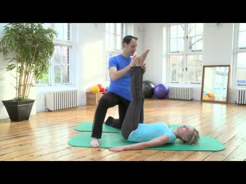 Corkscrew Pilates Exercise from yoopod.com