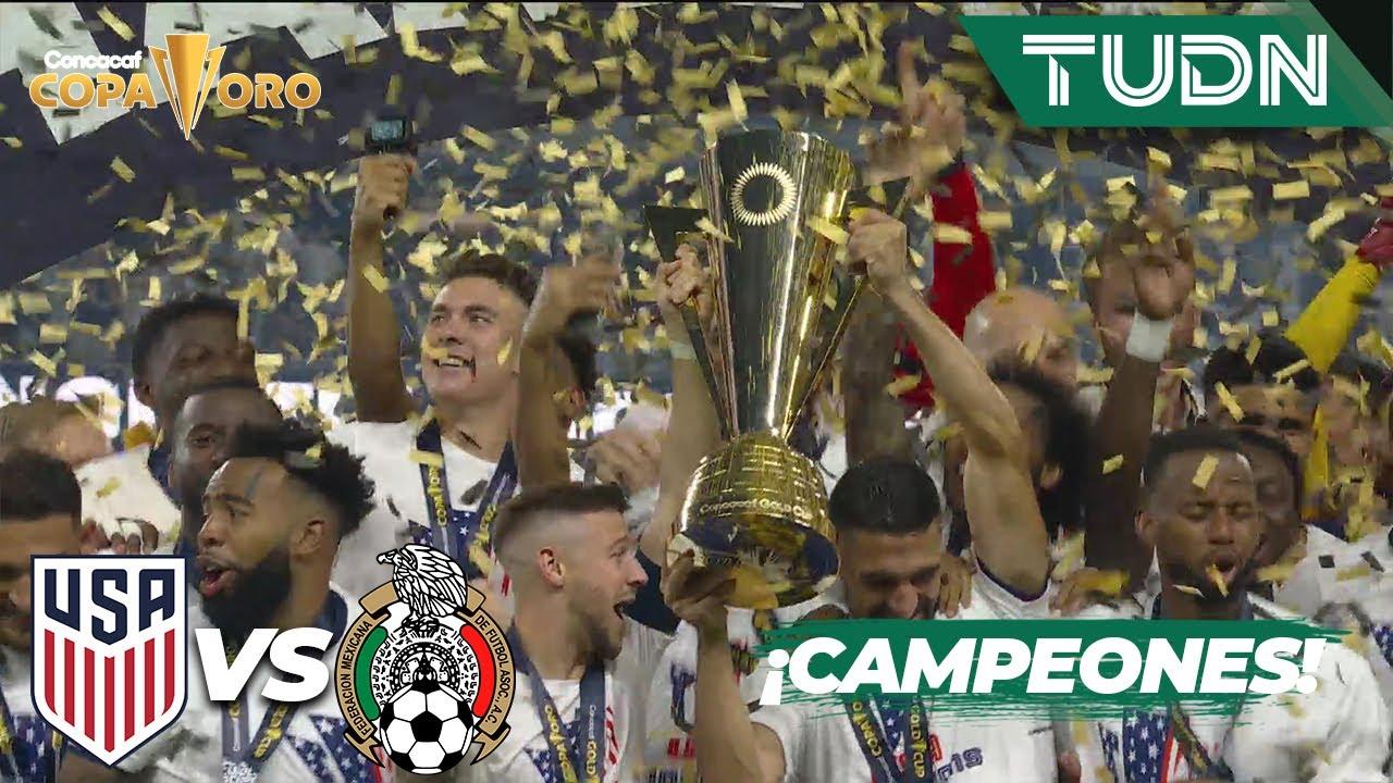 Estados Unidos es campen de la Copa Oro! Derrota a Mxico con ...