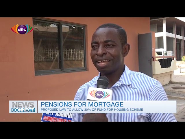 What do Ghanaians think about the proposal that pension contributions be used for housing scheme
