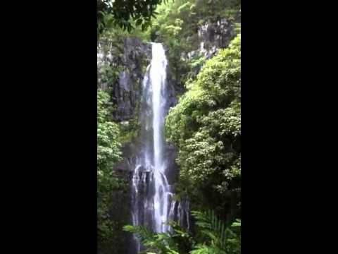 Waterfall in Kihei Hawaii