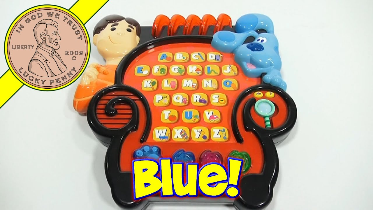 mailbox blues clues toy. Exellent Toy Mailbox Blues Clues Toy Blueu0027s  Joeu0027s Learning Letters  Electronic To Mailbox Blues Clues Toy