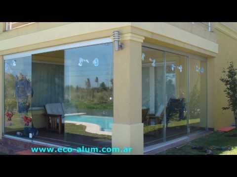 Cerramientos de balcon eco alum s r l youtube for Cerramientos de balcones