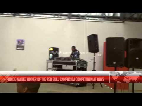 PRINCE KAYBEE WINNER OF THE REDBULL DJ CLASH AT UOVS
