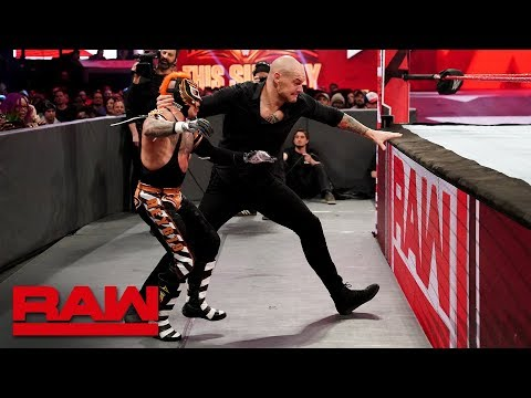 Rey Mysterio vs. Baron Corbin: Raw, April 1, 2019