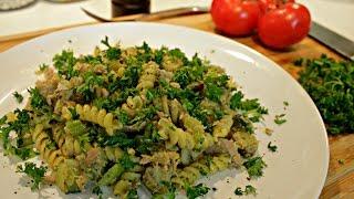 Easy Pesto Tuna Pasta Recipe