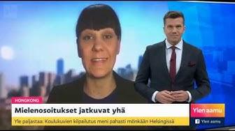 Aamu tv:n ulkomaanuutiset vessasta 29.10.2019