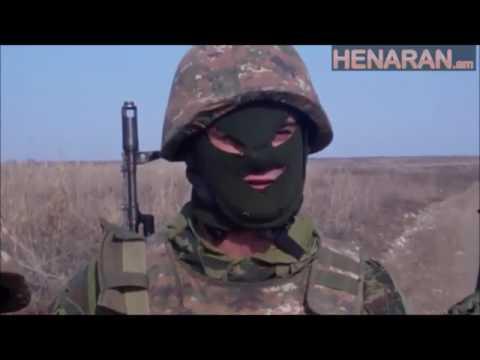 Armenian Soldier Warns Azerbaijani Army