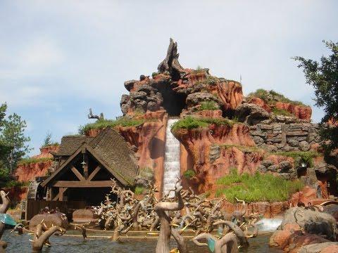 Splash Mountain Complete Experience HD Magic Kingdom Walt Disney World