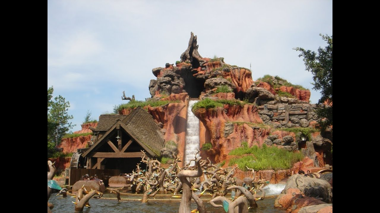 Splash Mountain Complete Experience Magic Kingdom Walt Disney World Youtube