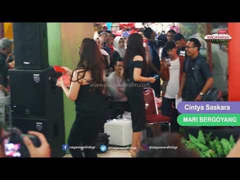 Cintya Saskara - Mari Bergoyang (Live) NAGAS ANGE7s 2018