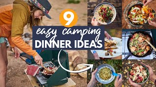 9 EASY Camping Diฑner Ideas: My go-to Car Camping Meals