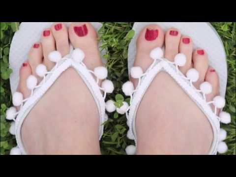 cb939927ecca9 How To Decorate Sandals For Summer