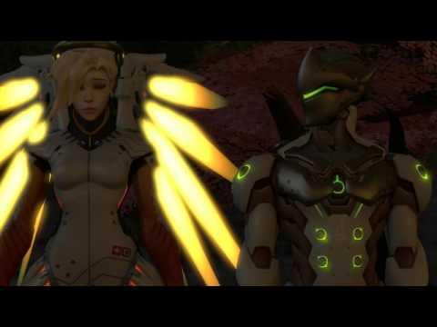 [sfm/overwatch]-mercy X Genji- I Am Still Here...