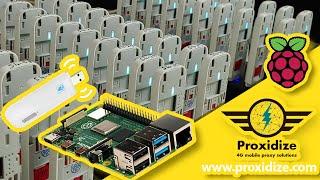Make Your Own 4G Proxy For Free - Proxidize.com