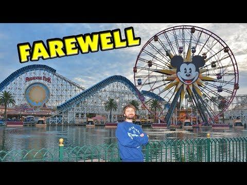Farewell Paradise Pier at Disney California Adventure