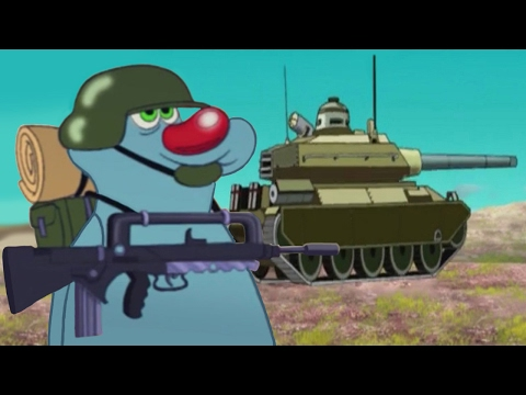 Oggy and the Cockroaches Military compilation #28