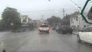 Belize City Flooding
